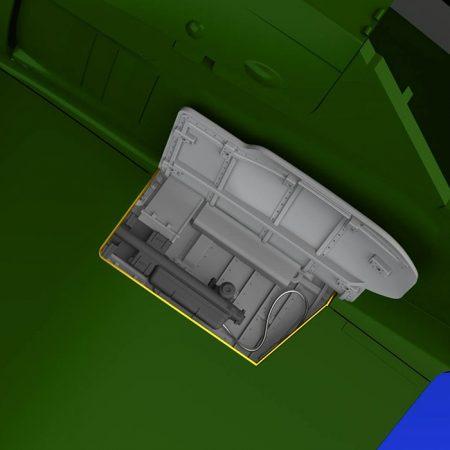 eduard brassin 648356 Focke Wulf Fw 190A wingroot gun bays 1/48 Kit en resina y fotograbado de las bodegas de armamento alares de Fw 190A. El kit se compone de 10 piezas en resina y fotograbados.
