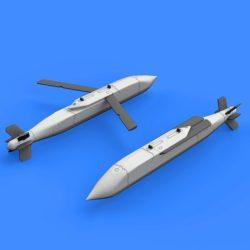 eduard brassin 648383 AGM-154A/C Block I Air-to-Ground Guided Missile 1/48 Kit en resina del misil Aire-Tierra AGM-154A/C Block I utilizado en los F-18.