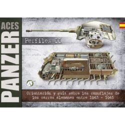Panzer Aces Perfiles II: Orientación y guía sobre los camuflajes de los carros alemanes entre 1943-1945Colores de camuflaje 1943-1945
