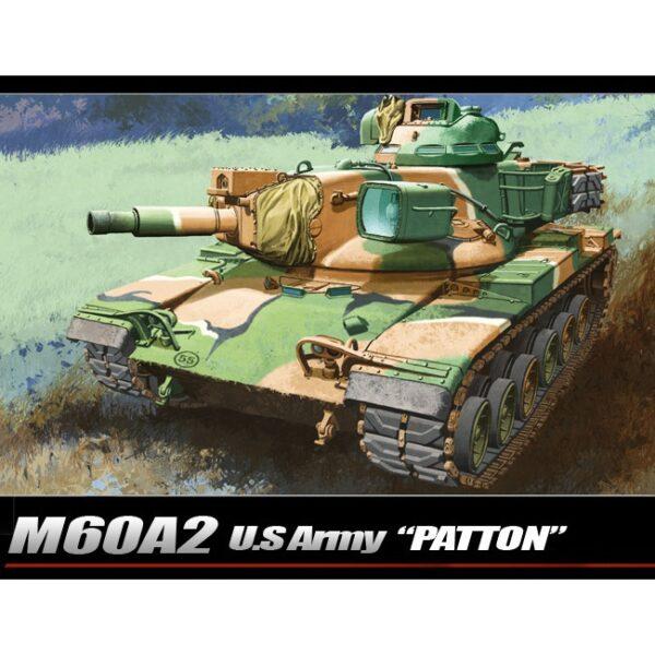 Academy 13296 U.S. ARMY M60A2 PATTON Kit en plástico para montar y pintar. Incluye piezas en fotograbado.
