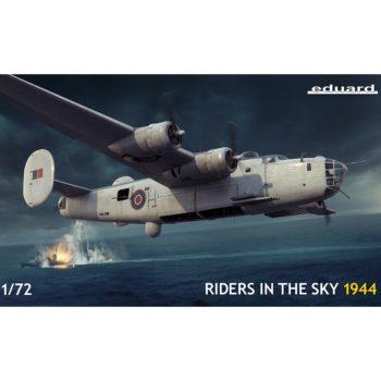 eduard 2121 Liberator GR Mk.V Riders in the Sky 1944 1/72 Limited Edition Kit en plástico para montar y pintar en edición limitada.