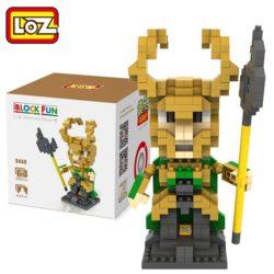 Loz 9449 Los Vengadores Loki 350pcs Construye y colecciona con los bloques de Loz, tus personajes favoritos. Los Diamond Blocks de Loz son los bloques de construcción mas pequeños del mercado.