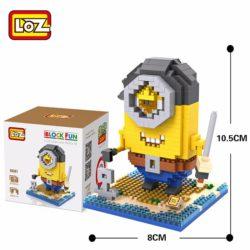 Loz 9607 Minion Pirata 510pcs Construye y colecciona con los bloques de Loz, tus personajes favoritos.