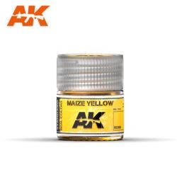 RC008 Maize Yellow 10ml Pintura de base laca acrílica de la mayor calidad con tonos precisos para los vehículos militares.