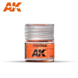 RC009 Orange 10ml Pintura de base laca acrílica de la mayor calidad con tonos precisos para los vehículos militares.