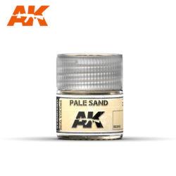 RC018 Pale Sand 10ml Pintura de base laca acrílica de la mayor calidad con tonos precisos para los vehículos militares.
