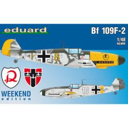 eduard 84147 Messerschmitt Bf 109F-2 Weekend Edition Kit en plástico para montar y pintar de la serie Weekend Edition de Eduard.