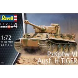 revell 03262 PzKpfw VI Ausf. H TIGER I Early Kit en plástico para montar y pintar.