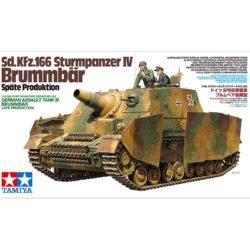 tamiya 35353 Sd.Kfz.166 Sturmpanzer IV Brummbär Späte Produktion Kit en plástico para montar y pintar.