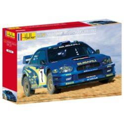 heller 80750 Subaru Impreza WRC 03 Rally de Chipre 1/24 Kit en plástico para montar y pintar.