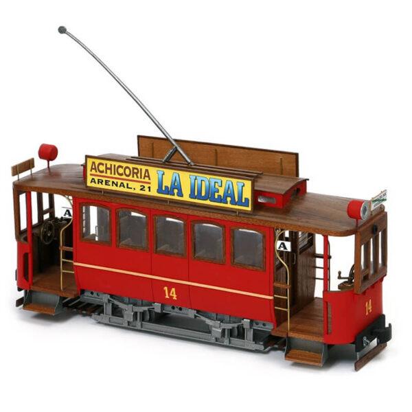 occre 53002 Tranvía Cibeles Madrid 1901 1/24 El modelo Cibeles representa a un tranvía madrileño de la C.E.M.T.
