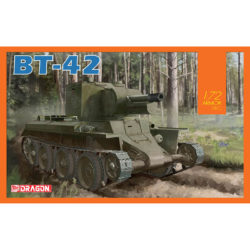 DRAGON 7565 BT-42 Assault Gun Kit en plástico para montar y pintar. Hoja de calcas con 3 decoraciones. Piezas 30+