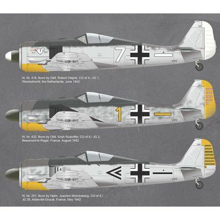 eduard 82144Focke Wulf Fw 190A-3 profiPACK Kit en plástico para montar y pintar de la serie profiPACK de Eduard. Incluye piezas en fotograbado y mascarillas.