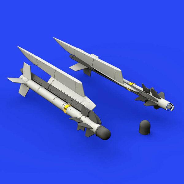 eduard brassin 648322 French Matra R-550 Magic Missiles 1/48 Kit en resina y fotograbado del misil francés Matra R-550.