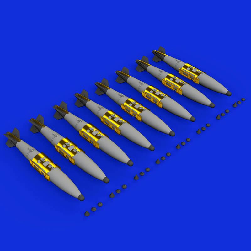 eduard brassin 648395 US Guided Aerial Bomb GBU-32 JDAM Non-Thermally Protected 1/48 Kit en resineduard brassin 648395 US Guided Aerial Bomb GBU-32 JDAM Non-Thermally Protected 1/48 Kit en resina y fotograbado.a y fotograbado.