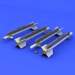 eduard brassin 672185 R-3S missiles for MiG-21 1/72 Kit en resina de los misiles R-3S para el MIG-21.