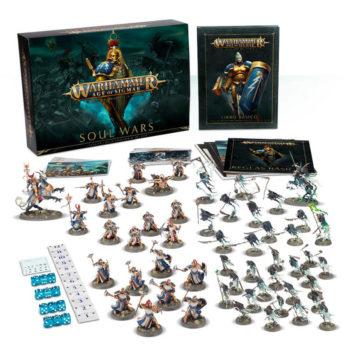 games workshop 80-01 Warhammer Age of Sigmar: Soul Wars La caja perfecta para aquellos que quieran sumergirse en este nuevo y emocionante capítulo de la Era de Sigmar.