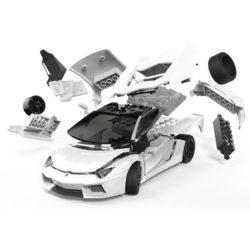 j6019 Airfix Lamborghini Aventador White Quickbuild La nueva gama de modelos QUICK BUILD de Airfix se construyen usando bloques de plástico de ajuste fácil.