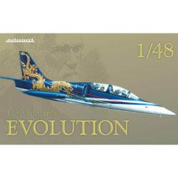 eduard 11121 L-39 Albatros Evolution Kit en plástico para montar y pintar de Eduard en edición limitada. Incluye fotograbados, piezas en resina y mascarillas. Hoja de calcas con 2 decoraciones Rusia y Hungría