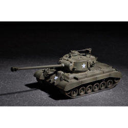 trumpeter 07170 US M26 with 90mm T15E2M2 Kit en plástico para montar y pintar. Dimensiones 129 x 49 mm