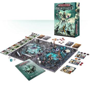 games workshop 110-01 Warhammer Underworlds: Nightvault es un juego de combate lleno de acción para dos jugadores.