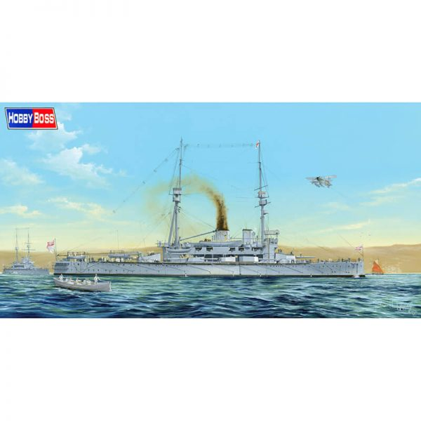 hobby boss 86509 HMS Agamenon 1/350 Kit en plástico para montar y pintar. Incluye piezas en fotograbado.