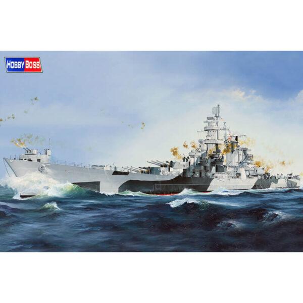 hobby boss 86513 USS Alaska CB-1 1/350 Kit en plástico para montar y pintar. Incluye piezas en fotograbado y pedestal.