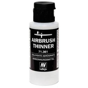 acrylicos vallejo 71361 Acrylicos Vallejo Diluyente aerografo 60ml Diluyente paraModel Air y Liquid Acrylic. Diluye el color sin perder las cualidades de adhesión, dureza y consistencia.