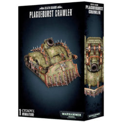 games workshop 43-52 Death Guard Plagueburst Crawler Kit en plástico multicomponente, se puede montar con distintas combinaciones de armamento.