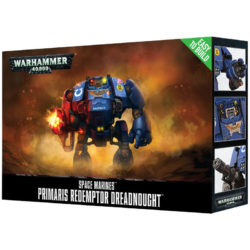 games workshop 48-87 Space Marines Primaris Redemptor Dreadnought Easy to Build - Montaje Fácil Kit en plástico multicomponente para montar un Primaris Redemptor Dreadnought.
