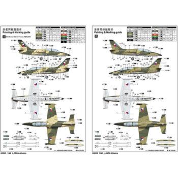 trumpeter 05805 L-39ZA Albatros Advance Trainer Kit en plástico para montar y pintar. Incluye piezas en fotograbado.trumpeter 05805 L-39ZA Albatros Advance Trainer Kit en plástico para montar y pintar. Incluye piezas en fotograbado.