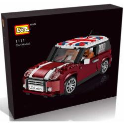 Loz Mini 1111 Mini Cooper 492 pcs Construye y colecciona con los bloques de Loz, tus vehículos favoritos. Los Mini Blocks de Loz son los bloques de construcción de tamaño medio entre Loz Diamond Blocks y Lego Blocks.