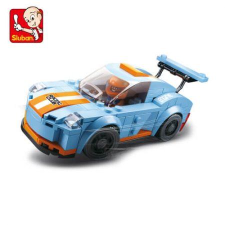Sluban B0633A Car Club Leopard Juego de construcción por bloques de plástico compatibles con Lego y otras marcas. Una forma fácil y divertida de construir tus primeros modelos y favorecer el desarrollo e imaginación