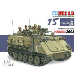 dragon 3608 IDF M113 Armored Personnel Carrier Yom Kippur War 1973 Kit en plástico para montar y pintar. Incluye piezas en fotograbado.