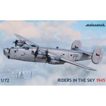 eduard 2123 Riders in the Sky 1945 1/72 Limited Edition Liberator GR Mk.VI and GR Mk.VIII in the RAF Coastal Command service Kit en plástico para montar y pintar en edición limitada de Eduard.