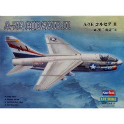 hobby boss 87204 A-7E Corsair II Kit en plástico para montar y pintar. Hoja de calcas con 2 decoraciones.