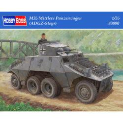 hobby boss 83890 M35 Mittlere Panzerwagen (ADGZ-Steyr) Kit en plástico para montar y pintar. Incluye piezas en fotograbado.
