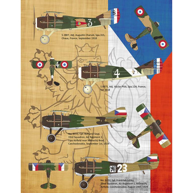 eduard 2126 Legie SPAD XIIIs flown by Czechoslovak pilots 1/72 Kit en plástico para montar y pintar de edición limitada Eduard. Incluye fotograbados y mascaras.