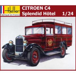 heller 80713 Citroen C4 Splendid Hötel 1/24 Kit en plástico para montar y pintar. Piezas 18 Dimensiones: 177 x 66 mm Escala 1/24