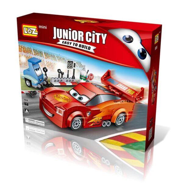 loz 1616 Loz Mini 1616 Coche de carreras 272 pcs Junior City: Easy to Build. Construye y colecciona con los mini bloques de Loz, tus vehículos favoritos. Piezas 272 Recomendado a partir de 6 años.