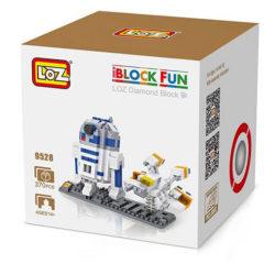 Loz 9528 Star Wars R2D2 & Nave 370 pcs Construye y colecciona con los bloques de Loz, tus personajes favoritos. Los Diamond Blocks de Loz son los bloques de construcción mas pequeños del mercado.