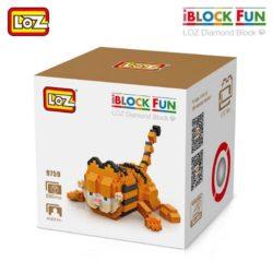 loz 9759 Loz 9759 Garfield 680 pcs Construye y colecciona tus personajes favoritos con los bloques de montaje mas pequeños del mercado. Piezas 680 Recomendado a partir de 14 años.