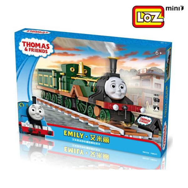 loz mini 1801 Loz Mini 1801 Thomas & Friends: Emily 721 pcs Construye y colecciona con los bloques de Loz, tus vehículos favoritos. Los Mini Blocks de Loz son los bloques de construcción de tamaño medio entre Loz Diamond Blocks y Lego Blocks.