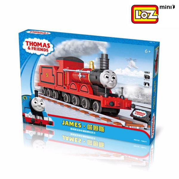 loz mini 1802 Loz Mini 1802 Thomas & Friends: James 614 pcs Construye y colecciona con los bloques de Loz, tus vehículos favoritos. Los Mini Blocks de Loz son los bloques de construcción de tamaño medio entre Loz Diamond Blocks y Lego Blocks. Piezas 614