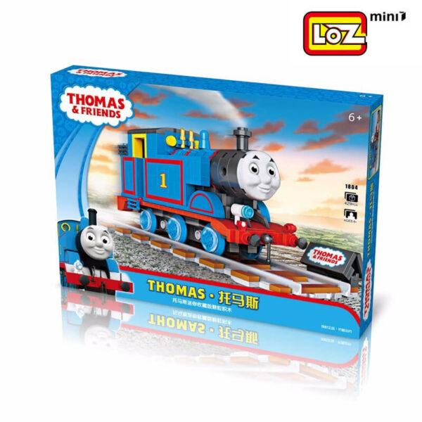 loz mini 1804 Loz Mini 1804 Thomas & Friends: Thomas 429 pcs Construye y colecciona con los bloques de Loz, tus vehículos favoritos. Los Mini Blocks de Loz son los bloques de construcción de tamaño medio entre Loz Diamond Blocks y Lego Blocks.