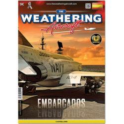 AMIG5111 The Weathering Aircraft Nº011 -Embarcados- Los aviones embarcados son una fuente de inspiración para los modelistas por la enorme cantidad de efectos y desgastes que se pueden imitar sobre ellos.
