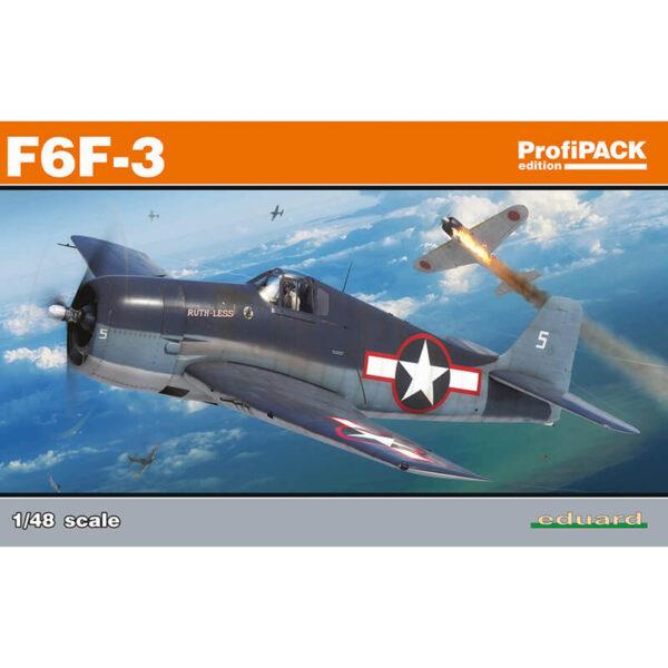 eduard 8227 Grumman F6F-3 Hellcat profiPAK Edition 1/48 Kits en plástico para montar y pintar