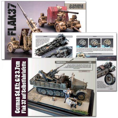 pa058 Panzer Aces Vol 058 Especial Vehículos Antiaéreos Alemanes FLAK