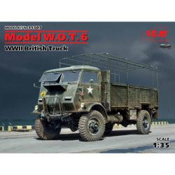 icm 35507 Model W.O.T. 6 WWII British Truck Kit en plástico para montar y pintar. Incluye piezas en fotograbado.