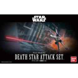 Bandai 30343 Star Wars 1/144 Death Star Attack SetKit de montaje en plástico por presión, no necesita pegamento.